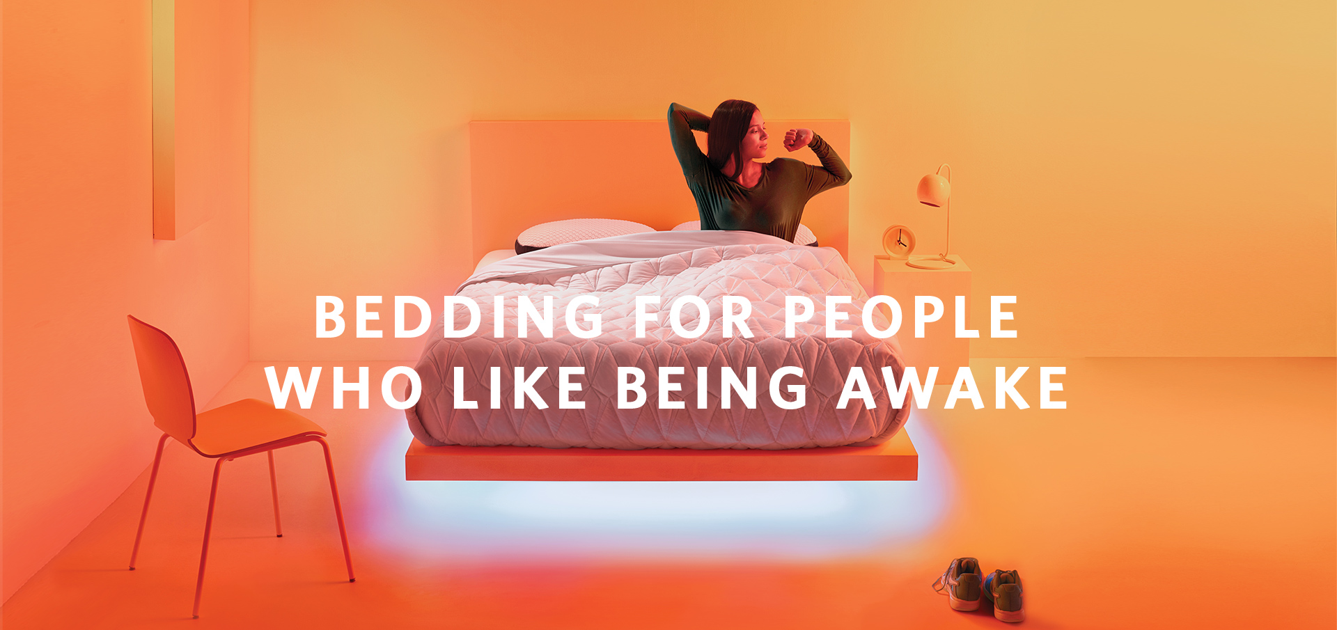 Bedding for people who like being awake