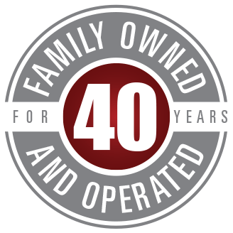 Family Owned and Operated for 40 Years