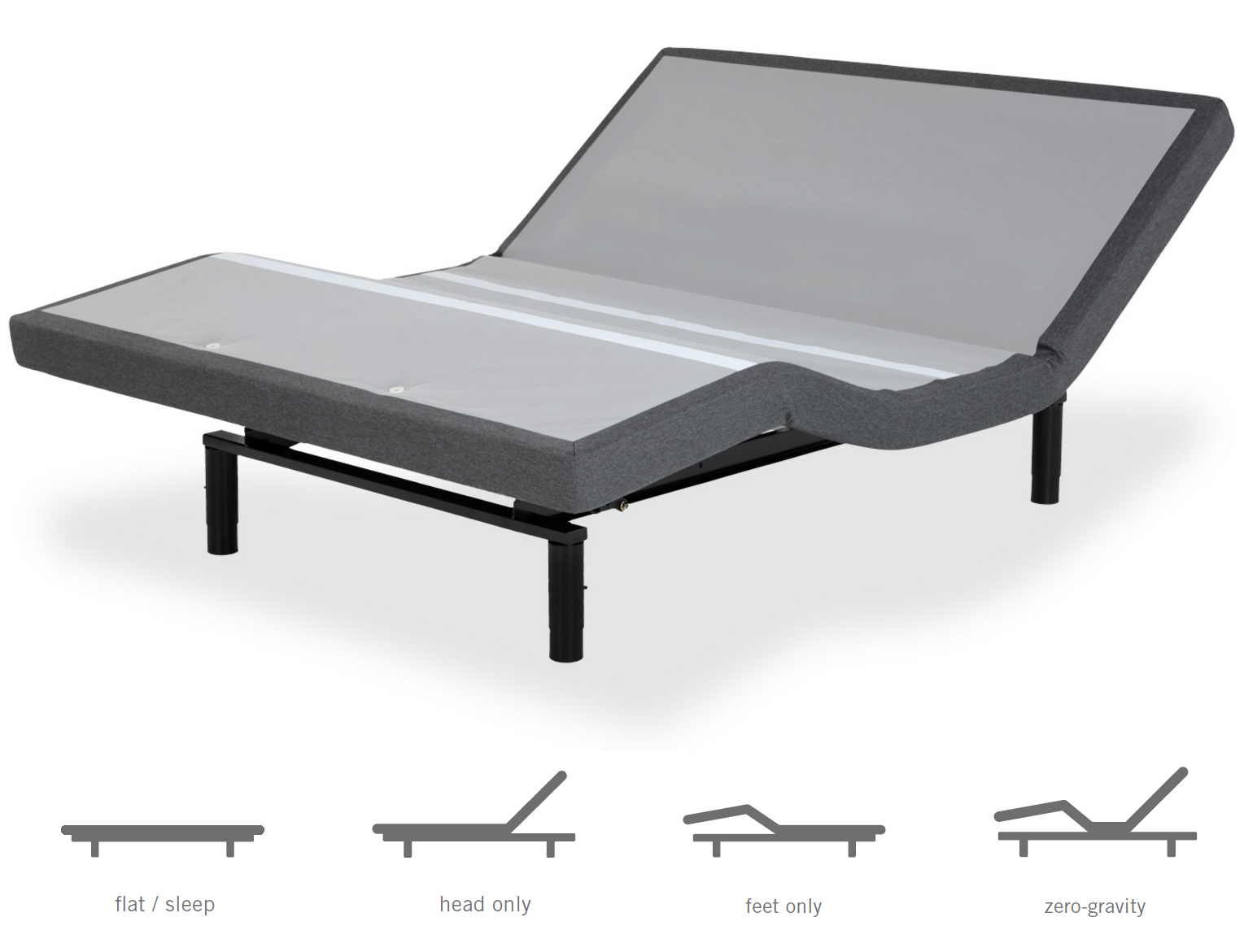 Adjustable Bed Base >> Cloud Nine Wireless Adjustable Bed Base Metro Mattress