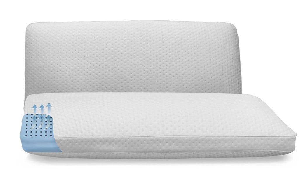 SensorPedic SensorCool Oversized Memory Foam Pillow