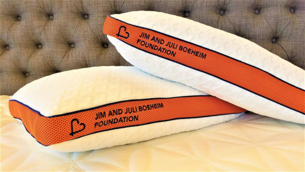 Boeheim Foundation Begear Pillow