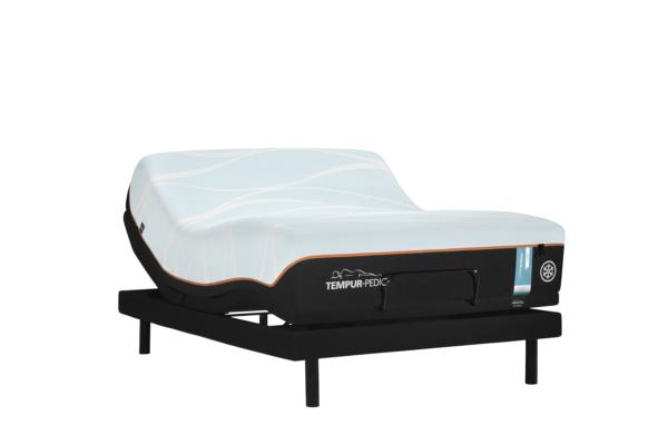 Tempurpedic Luxe Breeze Soft Mattress Adjustable Base Ergo Extend queen
