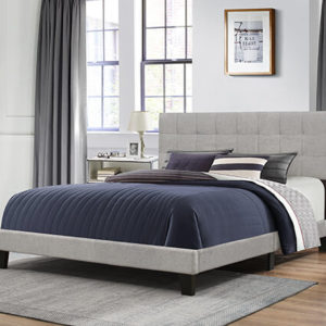 Hillsdale Delaney Bed Glacier Grey 1