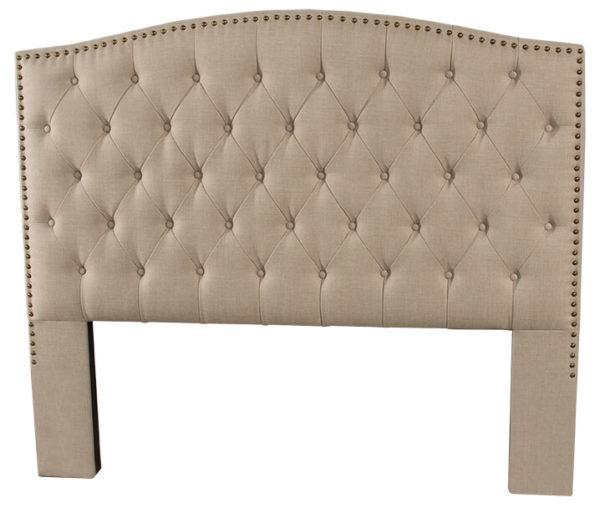 Hillsdale Lila Bed headboard only Linen Sandstone 1