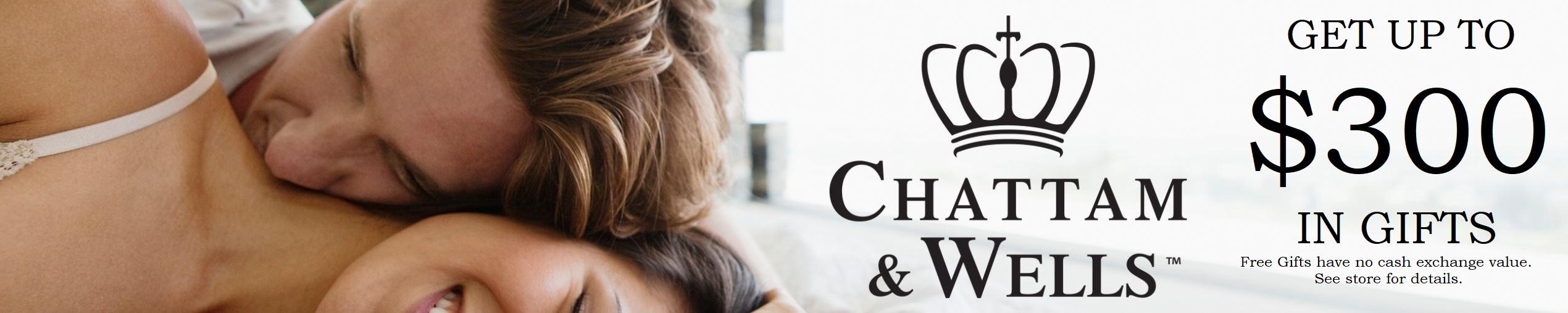 Chattam & Wells Mattress Free Gifts banner