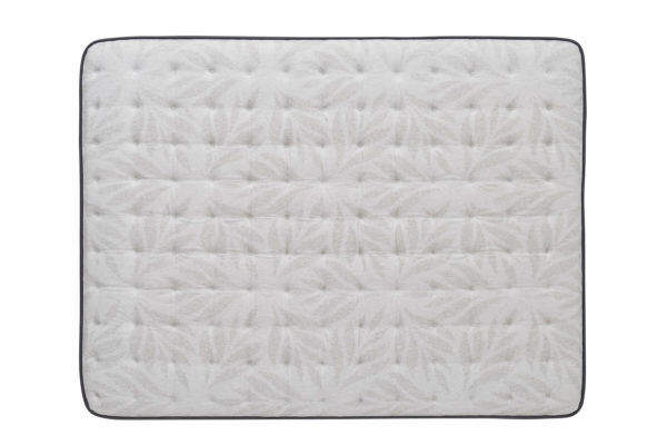 Sealy Diggens Euro Pillow Top Spring Posturepedic Queen Photography Silo TopDown