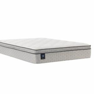 Sealy Hayward Euro Pillow Top Silo Mattress Only ThreeQuarter