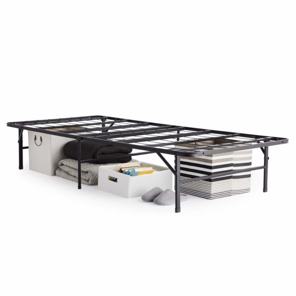 Foldable Platform Bed Base Storage