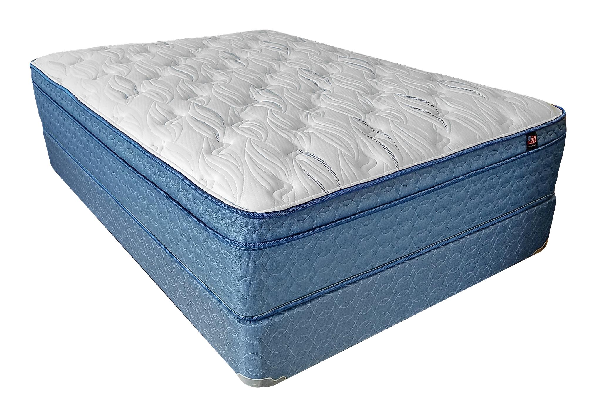 Constitution Euro Pillow Top Twin Mattress