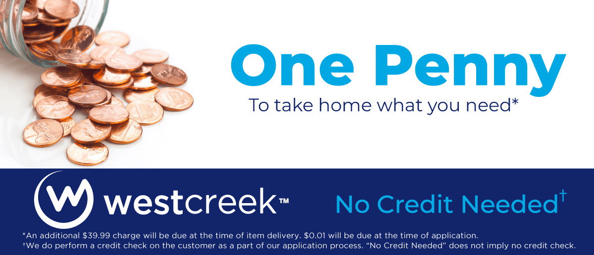 West Creek Penny Down banner
