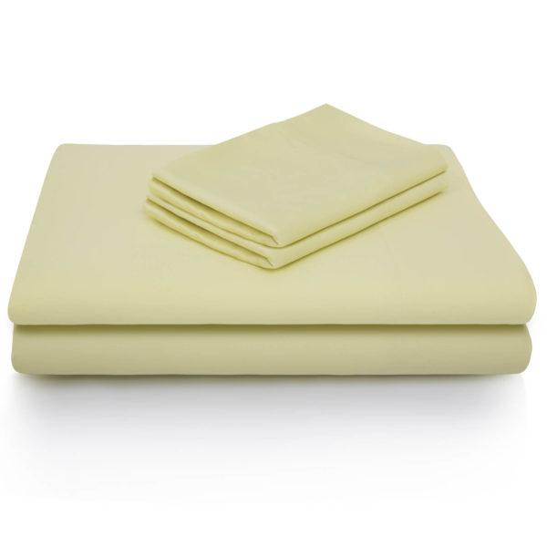 Bamboo Sheets Citron Color